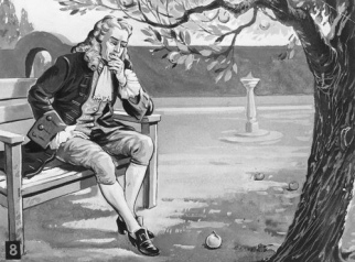 Newton and the Gravity Apple