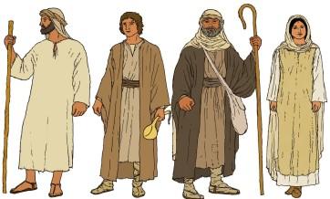 Sandal Clad Biblical Times