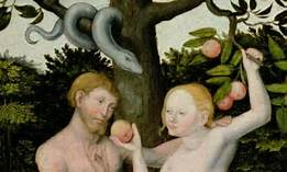 Adam and Eve Using Freewill
